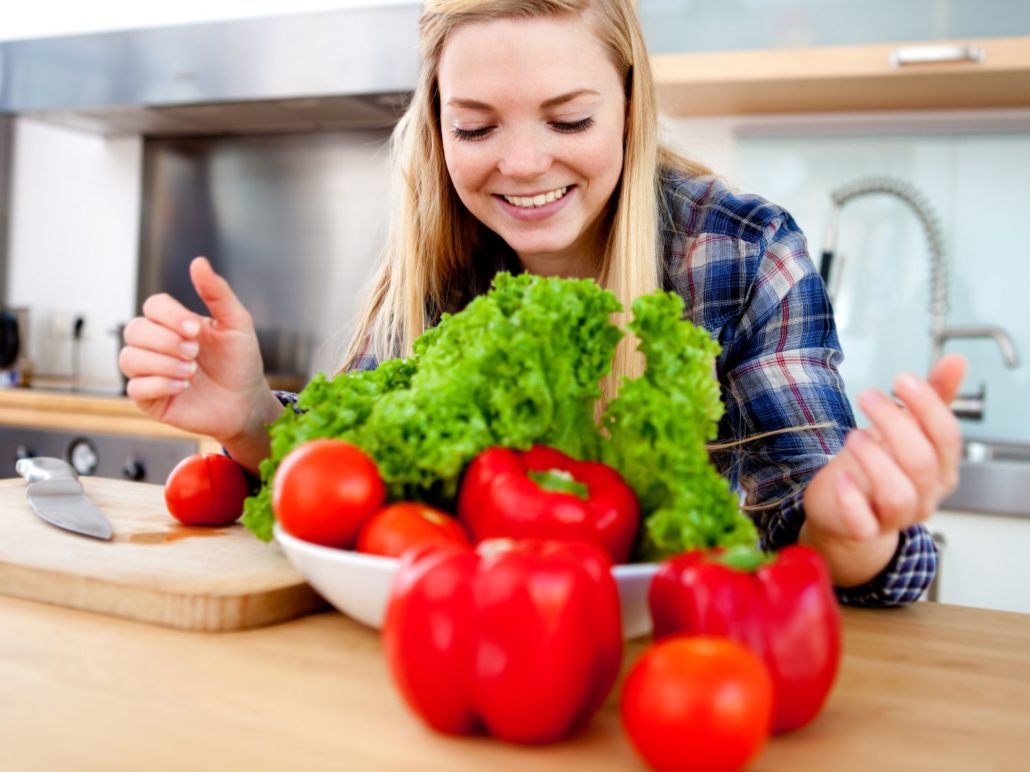 Diet Rich In High Fiber Foods And Low In Processed Foods